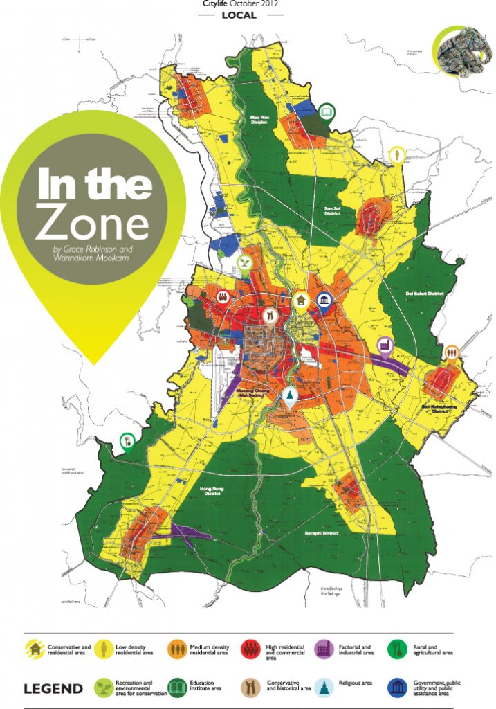 Chiang mai citylife in the zone for Zone plan