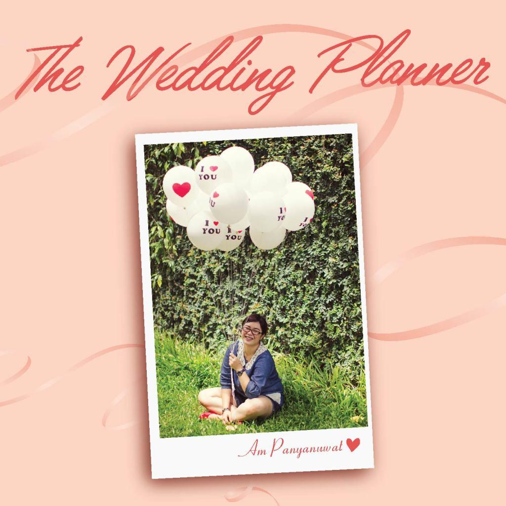 Wedding planner display