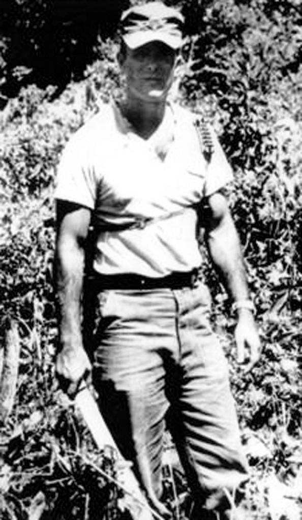 Bill Young at Ban Huay Sai, Laos, 1962