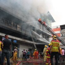 fire in warorot