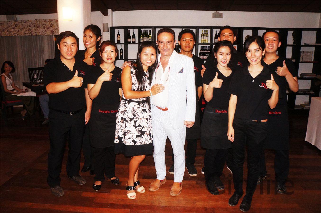 Chiang Mai Soical Pics - David\'s Kitchen Farewell 909