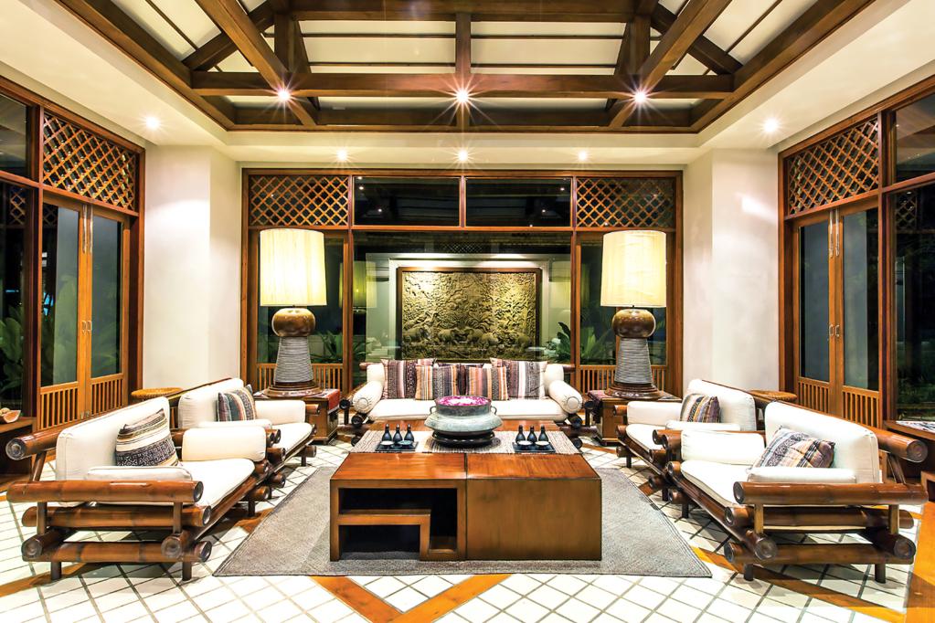 Oasis Spa Baan Saen Doi Lobby