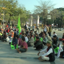 forest land protest