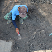 pottery dig