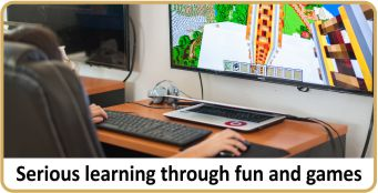 call-Serious-learning-through-fun-and-games