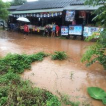 flood in chiang dao