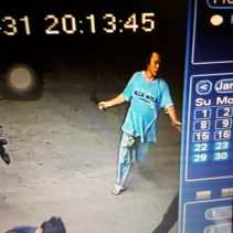 knife attack cctv