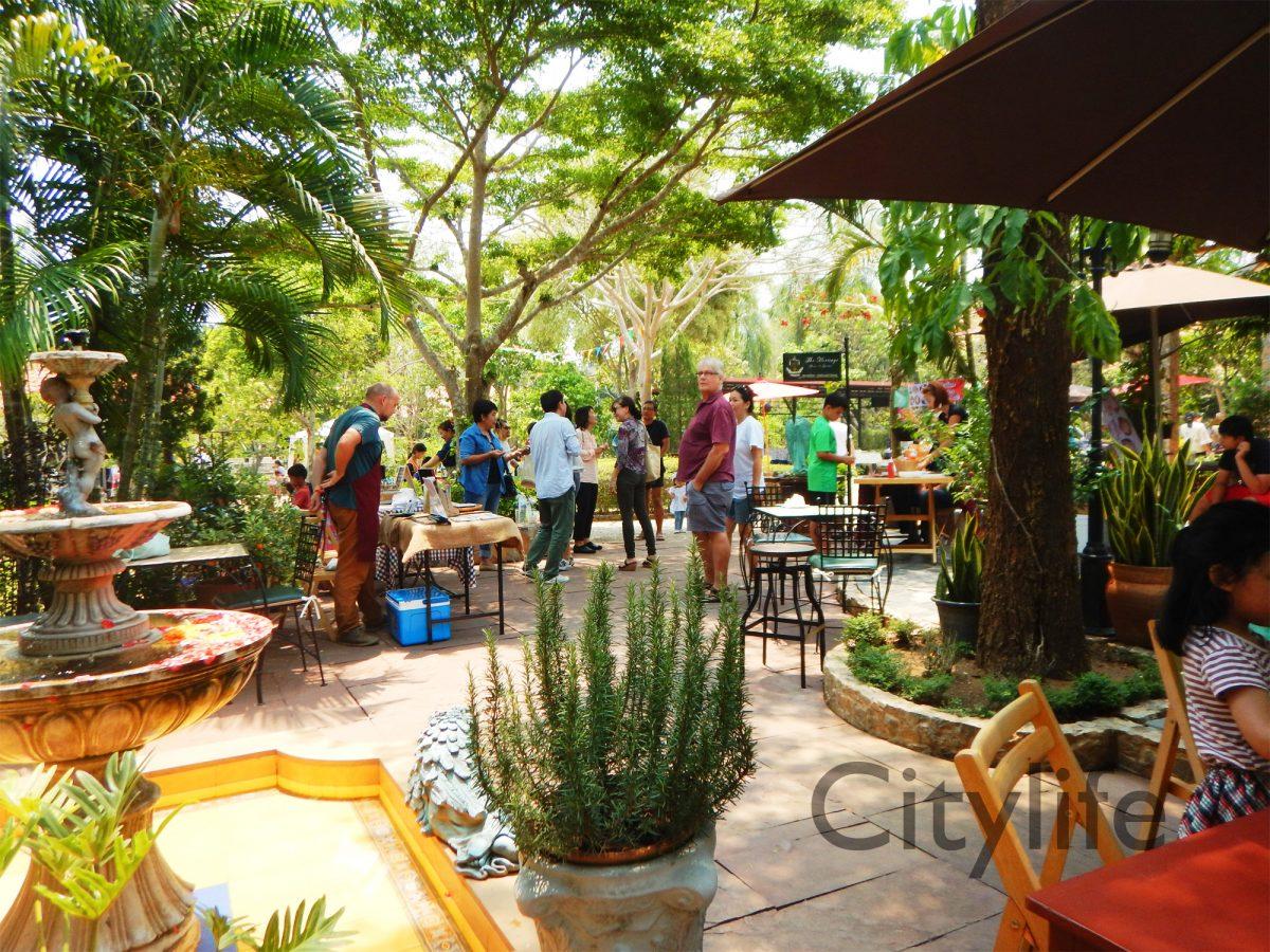 Chiang Mai Soical Pics - Country Garden Fair at Heritage House & Garden