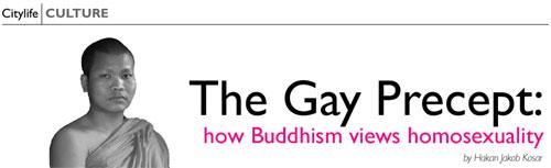 Thai buddhism homosexuality