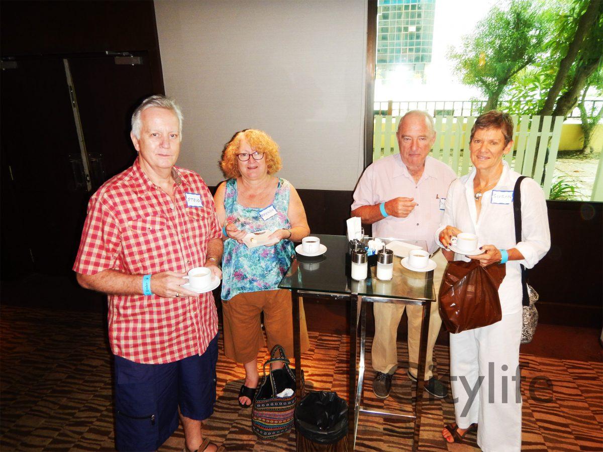 Expat Club Meeting at Le Meridien