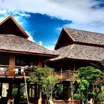 The teak house at Chiang Mai Montessori International Scho